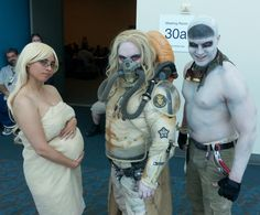 """Mad Max Cosplayers - """"Shiny!"""" These Mad Max cosplayers are awesome. """"Live. Die. Live again!"""""""