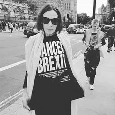 #kathrinehamnett #legend #cancelbrexit Where do I buy the t-shirt?