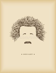 Where is Albert? Einstein hair, mustache and eyebrows- symbols -drawing , Mustache Drawing, Symbol Drawing, Book Cover Design, Albert Einstein, Eyebrows, Dj, Tattoo Designs, Royalty Free Stock Photos, Doodles