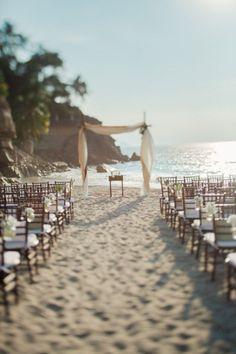 Made in heaven: Beach Wedding