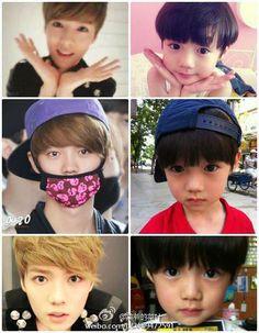 ~EXO: Luhan~ It's the cuteness. Luhan Exo, Sehun Oh, Exo Ot12, Kpop Exo, Exo K, U Kiss, 2ne1, Btob, Kai