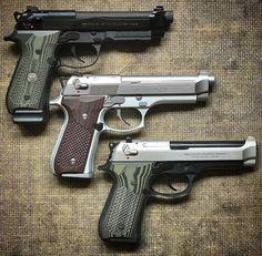 7,456 отметок «Нравится», 9 комментариев — Use #guns_gear_knives (@guns_gear_knives) в Instagram: «@Regrann from @pop_goes_the_glock -  Pick your poison. The 92G Brigadier Wilson Combat, M9…»