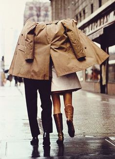 {style inspiration : the eternally chic trench coat}