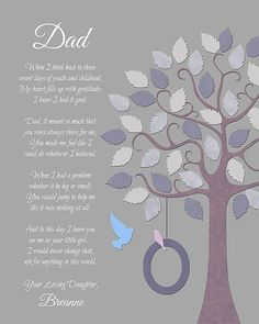Gift For Dad Father Daughter Gift Wedding by GoldHousePrints