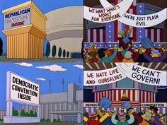 The Simpsons/Politics