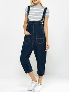 GET $50 NOW   Join RoseGal: Get YOUR $50 NOW!http://www.rosegal.com/jumpsuits-rompers/loose-fitting-pockets-design-drop-crotch-660825.html?seid=6830470rg660825
