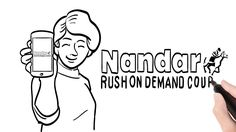 On Demand Courier Services - Nandar Rush - Get the App