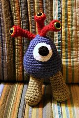 Ravelry: Amigurumi - Not So Scary Monster pattern by Craftbits