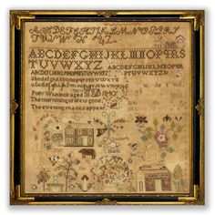 Forgery #15 - Polly Whitlock 1840 Sampler Kit by Amy Mitten