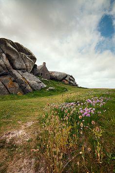 Vue originale du hameau de Meneham Kerlouan  | Finistère Bretagne