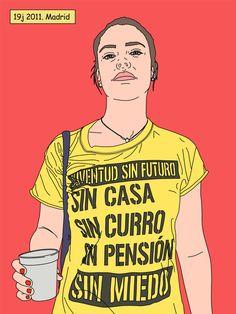 La artista que convierte a las indignadas en iconos feministas | Verne EL PAÍS