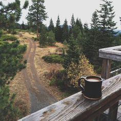 coffee in the wilderness