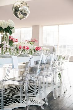The Model A Vaughan Model Showcases Classic Elements And A Glamorous Zebra Dining Room Chairs Review