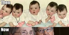 Do You Remember The Dionne Quintuplets? Would You Recognize Them Now?