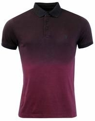 FRENCH CONNECTION Wenger 60s Mod Fine Stripe Polo