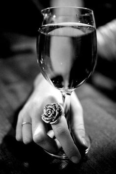 Like the ring, not so much the wine..