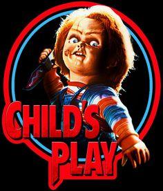 Slasher Movies, Horror Movie Characters, Horror Movies, Horror Icons, Horror Movie Posters, Horror Art, Chucky Movies, Child's Play Movie, Childs Play Chucky