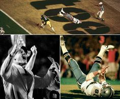 """1979Super Bowl XIII, The play could have tied the score at 21 late in the third quarter and, perhaps, punctuated Jackie Smith's storied career with a happy exclamation point.But Cowboys quarterback Roger Staubach screamed and convulsed when his easy touchdown pass bounced off the Hall of Famer tight end's hands.Coach Landry winced.Broadcaster Verne Lundquist captured the pained emotion of the moment perfectly: """"Bless his heart. He's got to be the sickest man in America."""" Steelers 35-Dallas…"""