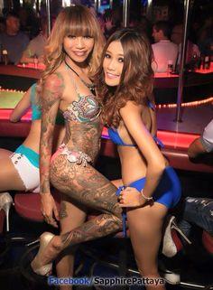 Go Go Dancers In Pattaya Thailand