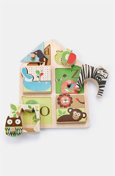 Free shipping and returns on Skip Hop 'Alphabet Zoo' Match & Play Puzzle at Nordstrom.com. Alphabet critters in colorful hues make learning part of playtime on a wooden puzzle that includes ten separate pieces.