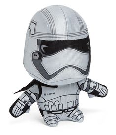 Plush Captain Phasma has a cute superdeformed look. She coordinates with our otherStar Wars: The Force Awakens Plush. Only difference about her is that she's our exclusive! You can only get huggable Captain Phasma here. We think you know what to do.