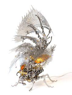 Les lampes insectes cinétiques de URam Choe  2Tout2Rien