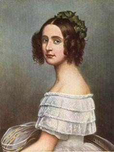 Princess Alexandra of Bavaria, who believed she had swallowed a glass piano