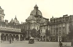 Little Paris, Bucharest Romania, Old Photography, Old City, Beautiful Architecture, Timeline Photos, Time Travel, Wonderful Places, Old Photos