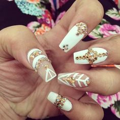 These are very nice designs, would love to see the nails a little bit shorter, slightly.