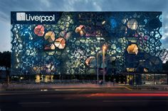 This building is pretty amazing. Liverpool, Insurgentes Department Store by Rojkind Arquitectos