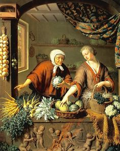 Researching Food History - Cooking and Dining: Carrots in Art