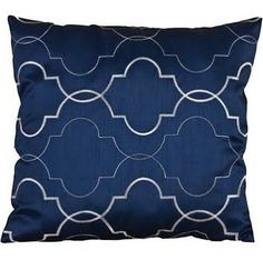 deep blue cushion - Google Search