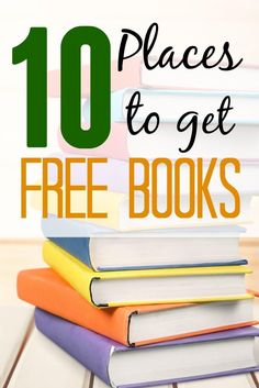 Need free books to read? Check out 10 places to get free books. These resources will have you reading everyday!
