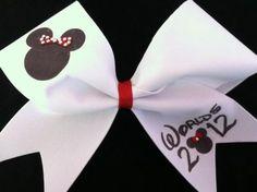 cutest cheer bow!