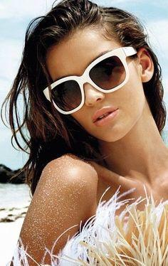 Model Natasha Barnard in GUESS Summer 2013 Campaign