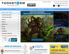 Toon Storm ToonStorm is the real #worldwide leader of WOW #accountsales. With over 3,000 WOW accounts in #stock at all times, you...
