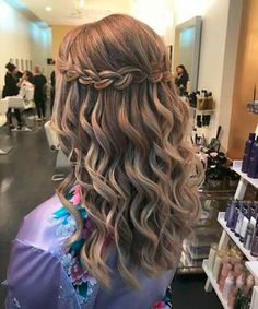 Ideal Waterfall Braided Hairstyles 2019 That are Simply Gorgeous - Hair Styles Shaved Side Hairstyles, Braided Hairstyles For Wedding, Box Braids Hairstyles, Hairstyle Ideas, Girl Hairstyles, Wedding Braids, Style Hairstyle, Hairstyles 2018, Red Hair Color