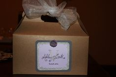 Wedding Guest Welcome Bag. $5.00, via Etsy.