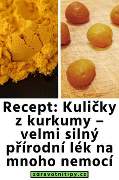 Recept: Kuličky z kurkumy – velmi silný přírodní lék na mnoho nemocí Astrology Houses, Sweet Potato, Detox, Vegetables, Health, Food, Turmeric, Health Care, Essen