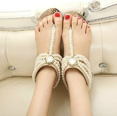 Unique flat shoes Pearl wedding shoes flat bridal by casehome1818, $69.00