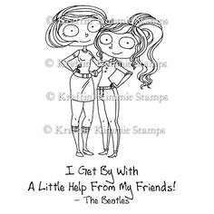 Best Friends  : Kraftin Kimmie Stamps