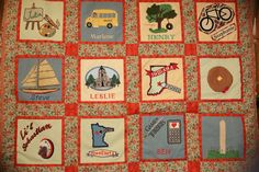Parks and Recreation Knope/Wyatt Unity Quilt – See it Up Close! Parks And Recreation, Parks N Rec, Chris Traeger, Tom Haverford, Ben Wyatt, Andy Dwyer, April Ludgate, Wedding Types, Leslie Knope