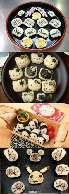 Love to eat this rolled rice super cute
