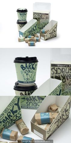 Packaging design for dog treats