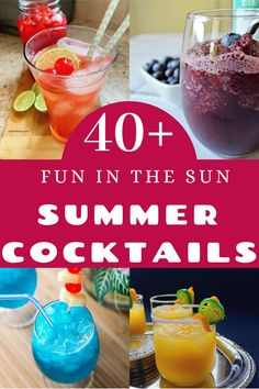 "Have ""Fun in the Sun"" with these 35 different Summer Cocktails. #Summercocktails #FunInTheSun #BeachDrinks #PoolPartiyDrinks #Cocktails #CocktailRecipes #SummerRecipes #myturnforus Picnic Recipes, Picnic Foods, Dinner Recipes, Cocktail Recipes, Drink Recipes, Summer Recipes, Holiday Recipes, Beach Drinks, Summer Food"