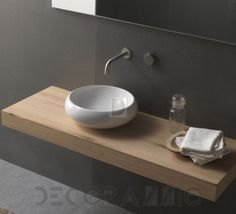 #bathroom #sink #interior #design #interiordesign Накладная раковина Novello Complementi, rotondo_2735