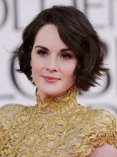 wavy short hairstyles for square faces