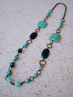 Colar Acqua - Acqua Necklace | Beat Bijou | Elo7