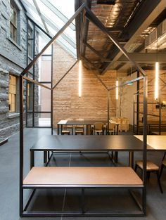 Captain Melville bar and restaurant by Breathe Architecture, Melbourne | Yellowtrace.