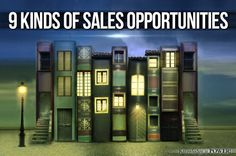9 Kinds of Sales Opportunities